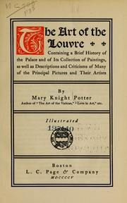 Cover of: The art of the Louvre by Mary Knight Potter