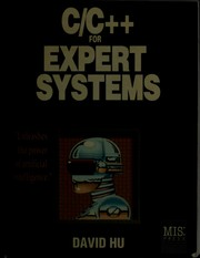C/C + + for Expert Systems by David Hu