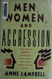Cover of: Men, women, and aggression | Campbell, Anne
