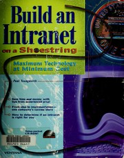 Cover of: Build an intranet on a shoestring