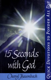 Cover of: 15 seconds with God
