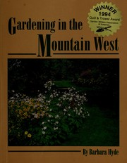 Cover of: Gardening in the Mountain West | Barbara Hyde