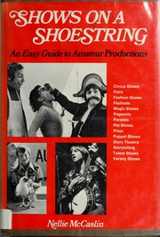 Cover of: Shows on a shoestring