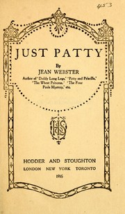 Cover of: Just Patty