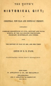 Cover of: The Youth's historical gift