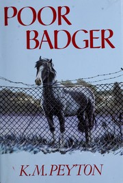 Cover of: Poor Badger