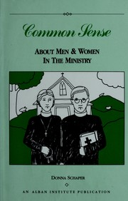 Cover of: Common sense about men & women in the ministry