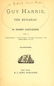 Cover of: Guy Harris, the runaway