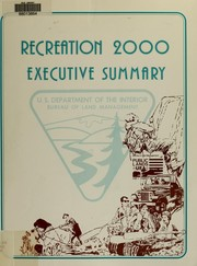Cover of: Recreation 2000