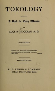 Tokology by Alice B. Stockham