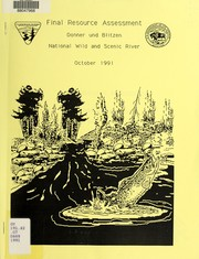 Cover of: Final resource assessment