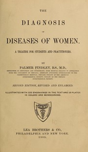 Cover of: The diagnosis of diseases of women by Findley Palmer. [from old catalog]