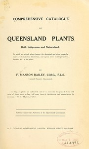 Cover of: Comprehensive catalogue of Queensland plants