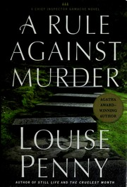 Murder stone by Louise Penny