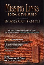Cover of: Missing Links Discovered in Assyrian Tablets | E. Raymond