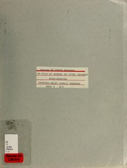 Cover of: Copies of birth records on file at Bureau of Vital Records |