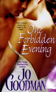 Cover of: One forbidden evening