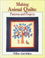 Cover of: Making animal quilts