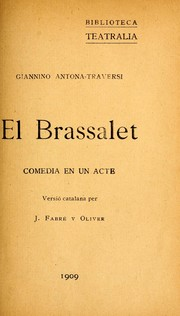 Cover of: El brassalet