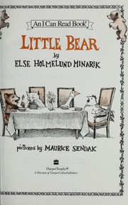 Cover of: Adventures of Little Bear (Little Bear) [ILLUSTRATED] |
