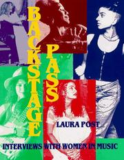 Cover of: Backstage pass | Laura Post