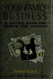 Your family business by Benjamin Benson