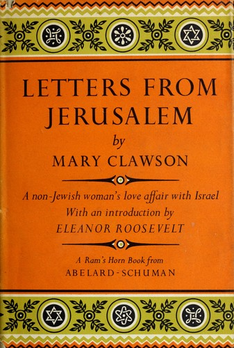 Letters from Jerusalem. by Mary Clawson