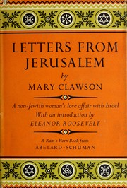 Cover of: Letters from Jerusalem. | Mary Clawson