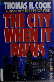 Cover of: The city when it rains