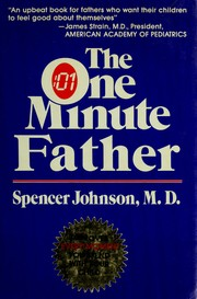 Cover of: The one minute father