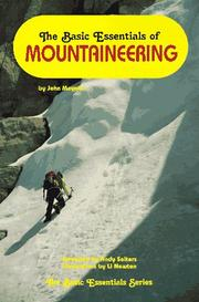 Cover of: The basic essentials of mountaineering