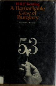 Cover of: A remarkable case of burglary