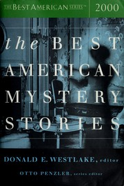 Cover of: The best American mystery stories, 2000 |