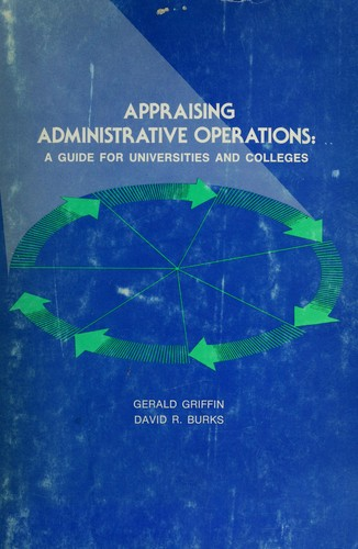 Appraising administrative operations by Gerald Griffin