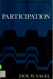 Cover of: Participation | Jack H. Nagel