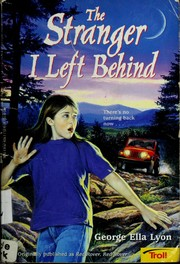 Cover of: The stranger I left behind