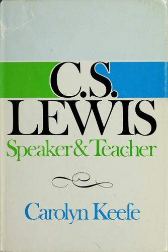 C. S. Lewis; speaker & teacher.