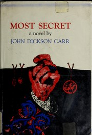 Cover of: Most Secret