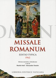 Cover of: Missale Romanum