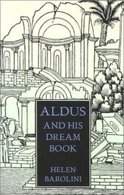 Aldus and His Dream Book