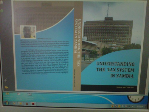 Understanding the tax system in Zambia by Misheck Table