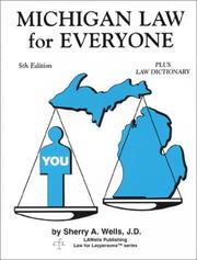 Cover of: Michigan Law for Everyone | Sherry A. Wells