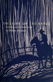 Cover of: Twilight on the range