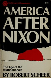 Cover of: America after Nixon