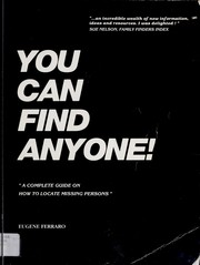 Cover of: You can find anyone! | Eugene Ferraro