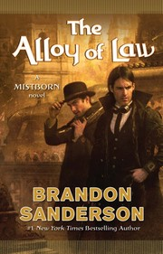 Cover of: The Alloy of Law | Brandon Sanderson