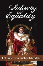Cover of: Liberty or equality