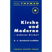 Cover of: Kirche und moderne