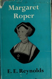 Cover of: Margaret Roper, eldest daughter of St. Thomas More