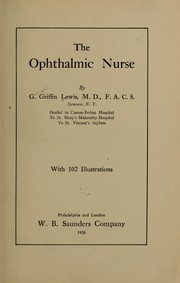 Cover of: The Ophthalmic Nurse